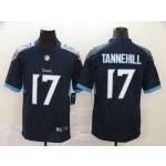 NFL Titans #17 Ryan Tannehill Navy Men's Stitched Vapor Untouchable Limited Jersey