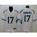 NFL Titans #17 Ryan Tannehill White Men's Stitched Vapor Untouchable Limited Jersey
