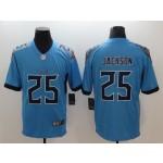NFL Titans #25 Adoree' Jackson Light Blue Men's Stitched Vapor Untouchable Limited Jersey