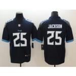 NFL Titans #25 Adoree' Jackson Navy Men's Stitched Vapor Untouchable Limited Jersey
