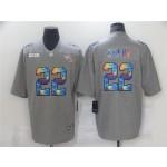 Tennessee Titans #22 Derrick Henry Gray Rainbow Vapor Limited Jersey