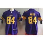 NFL Vikings #84 Randy Moss Purple Color Rush Limited Jersey