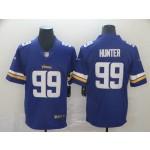 NFL Vikings #99 Danielle Hunter Purple Vapor Untouchable Limited Jersey