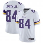 Men's Minnesota Vikings Vikings #84 Irv Smith jr. White Vapor Untouchable Limited Jersey