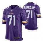 Men's Minnesota Vikings #71 Christian Darrisaw Purple 2021 Vapor Untouchable Limited Stitched NFL Jersey