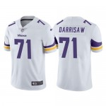 Men's Minnesota Vikings #71 Christian Darrisaw White 2021 Vapor Untouchable Limited Stitched NFL Jersey
