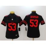 NFL Women San Francisco 49ers NaVorro Bowman #53 Black Jersey
