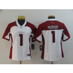 NFL Women Arizona Cardinals Kyler Murray #1 White Jersey