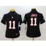 NFL Women Falcons Julio Jones #11 Black Jersey
