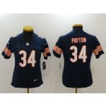 NFL Women Bears Walter Payton #34 Blue Jersey