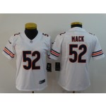 NFL Women Bears Khalil Mack #52 white Jersey
