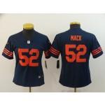 NFL Women Bears Khalil Mack #52 Blue Jersey