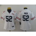 NFL Women Bears Khalil Mack #52 white 100th Jersey