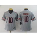 NFL Women Bears Truubisky #10 grey Inverted Legend Jersey