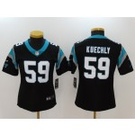 NFL Women Carolina Panthers Luke Kuechly #59 black Jersey