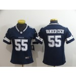 NFL Women Dallas Cowboys Vander Esch #55 blue Jersey