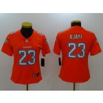 NFL Women Miami Dolphins Ajayi #23 Orange Jersey