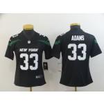NFL Women New York Jets Jamal Adams #33 black 2019 Jersey