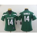 NFL Women New York Jets Sam Darnold #14 Green 2019 Jersey
