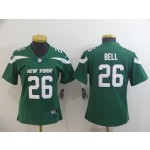 NFL Women New York Jets Le'Veon Bell #26 Green 2019 Jersey