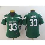 NFL Women New York Jets Jamal Adams #33 Green 2019 Jersey