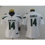 NFL Women New York Jets Sam Darnold #14 White 2019 Jersey