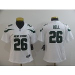 NFL Women New York Jets Le'Veon Bell #26 White 2019 Jersey