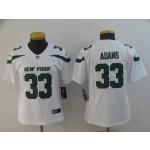 NFL Women New York Jets Jamal Adams #33 White 2019 Jersey