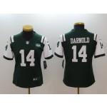 NFL Women New York Jets Sam Darnold #14 Green Jersey