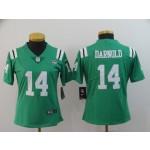 NFL Women New York Jets Sam Darnold #14 light Green Jersey