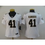 NFL Women New Orleans Saints Kamara #41 white Jersey