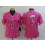 NFL Women New Orleans Saints Kamara #41 Pink Jersey
