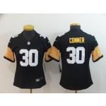 NFL Women Steelers Conner #30 black New 2018 Legend Jersey