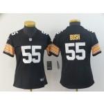 NFL Women Steelers Devin Bush #55 black New 2018 Legend Jersey