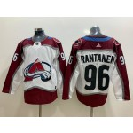 NHL Colorado Avalanche #96 Mikko Rantanen White New Adidas Jersey