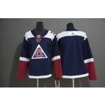 Women Colorado Avalanche Blank Navy Alternate Adidas Jersey