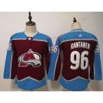 Women Colorado Avalanche #96 Mikko Rantanen Red New Adidas Jersey