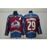 Youth Colorado Avalanche #29 Nathan MacKinnon Red New Adidas Jersey