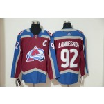 Youth Colorado Avalanche #92 Gabriel Landeskog Red New Adidas Jersey