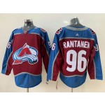 Youth Colorado Avalanche #96 Mikko Rantanen Red New Adidas Jersey