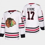 NHL Chicago Blackhawks #17 Dylan Strome White Adidas Jersey