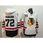 NHL Chicago Blackhawks #72 Artemi Panarin White Winter Classic All Stitched Hooded Sweatshirt