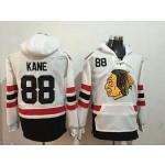 NHL Chicago Blackhawks #88 Patrick Kane White Winter Classic All Stitched Hooded Sweatshirt
