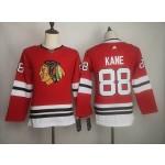 Women Blackhawks #88 Patrick Kane Red Adidas Jersey