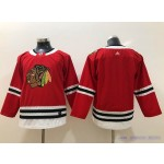 Youth Chicago Blackhawks Red Adidas Jersey