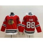 Youth Chicago Blackhawks #88 Patrick Kane Red Adidas Jersey