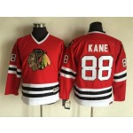 Youth Chicago Blackhawks #88 Patrick Kane Red Throwback CCM Jersey