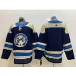 NHL Columbus Blue Jackets Blank Navy Third Adidas Jersey