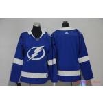Women Tampa Bay Lighting Blank Blue Adidas Jersey
