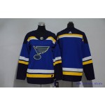 Youth St. Louis Blues Blank Blue Adidas Jersey